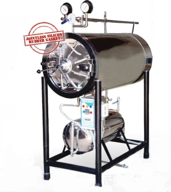 HORIZONTAL AUTOCLAVE (CYLINDERICAL)