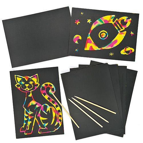 Scratch Art Party Pack