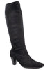 Marco Tozzi Black Knee High Low Heel Stretch Boots S368