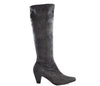 Marco Tozzi Grey Knee High Low Heel Stretch Boots S370