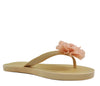 Nude Flat Open Toe Flower Sandals S307