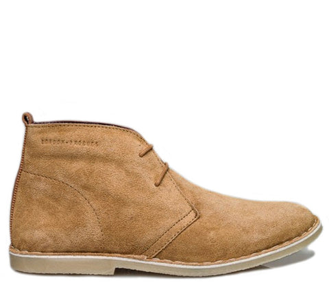 Caxton Tan London Brogues Suede Desert Boots S417