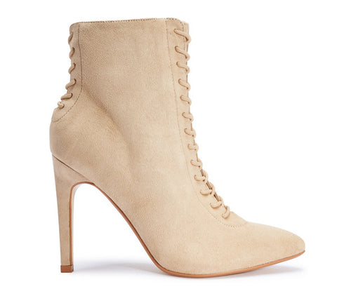 Shelby Stone Lace Up Ankle Boots S500