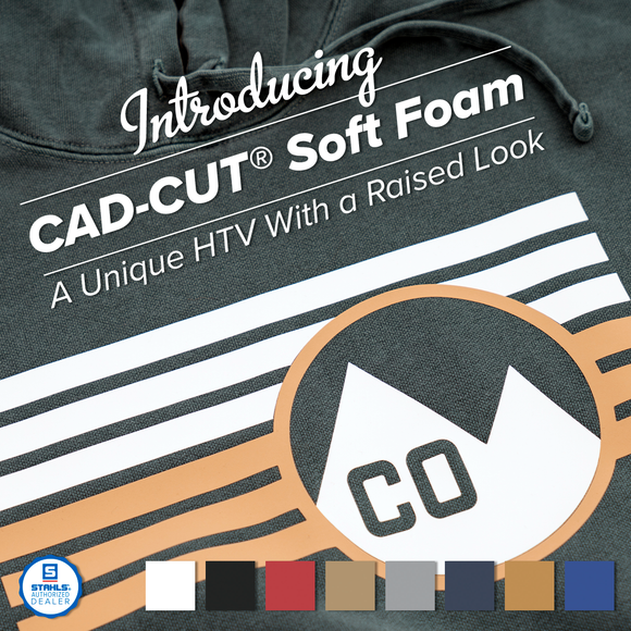 CAD-CUT® Soft Foam Heat Transfer Vinyl