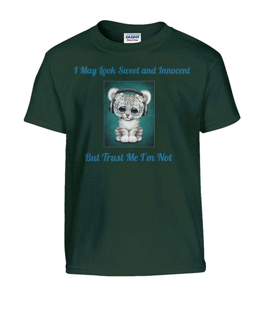 I May Look Sweet and Innocent Kid's Tee