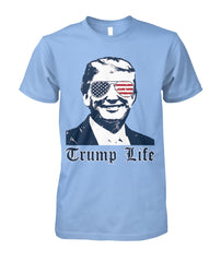 Trump Life American Glasses Tee