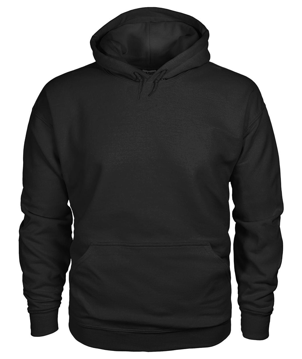 It's Because I'm Black Isn't It Hoodie Unisex Hoodie - Image on Back