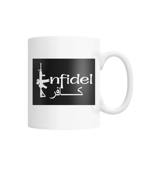 Infidel Rifle Coffee Mug White Coffee Mug