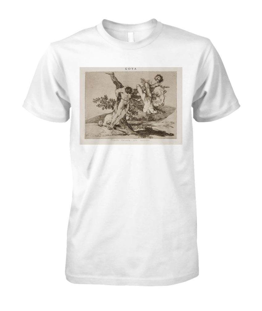 A Heroic Feat! With Dead Men Goya Art Tee