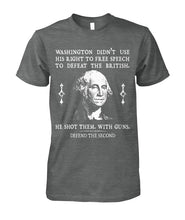 Load image into Gallery viewer, Defend The Second - Washington Tee
