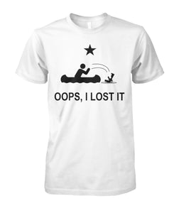 Oops, I lost It Tee - A Tragic Boating Accident