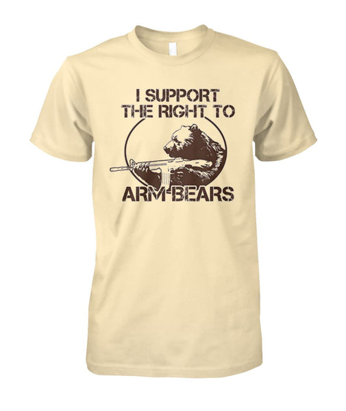 I Support the Right to Arm Bears Tee