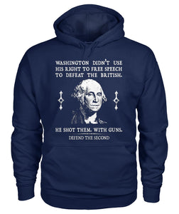 Washington Didn't Use His Right To Free Speech To Defeat The British Hoodie