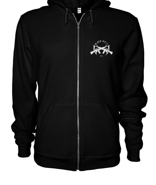 Black Rifle Co. It's Because I'm Black Isn't It Zipper Hoodie