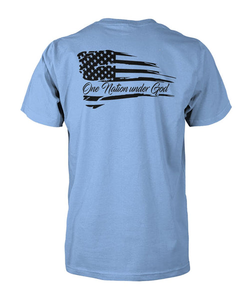 One Nation Under God - Ronald Reagan Quote Tee