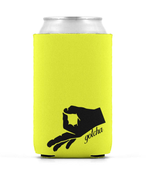 The Circle Game Gotcha Beer Koozie Can Sleeve