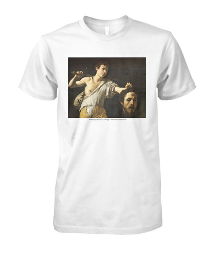 Michelangelo Merisi da Caravaggio – David With Goliath's Head Art Tee