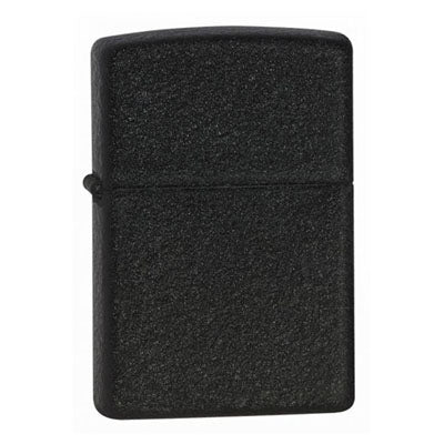 Zippo Classic Black Crackle Lighter