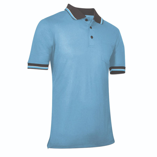 Champro Umpire Polo Shirt Light Blue Medium