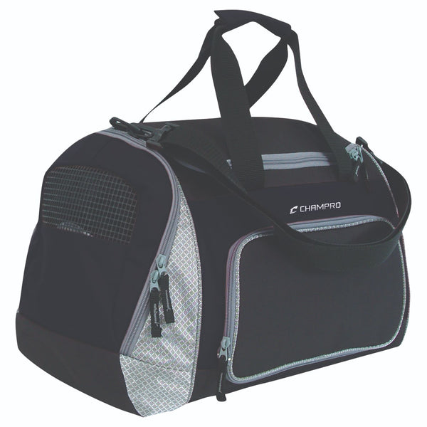 Champro Pro Plus Gear Bag 24 in x 14 in x 12 in Black Navy