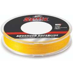 Sufix Advanced Superline 832 Braid 40 lb HiVis Yellow 300 yd