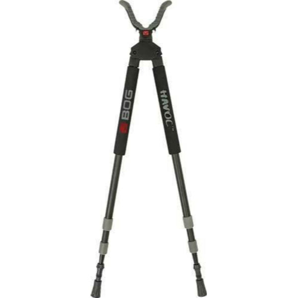 BOG Havoc Shooting Stick Bipod Black