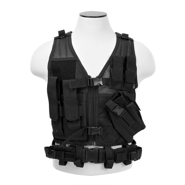Vism Tactical Vest Black-XS-Sm
