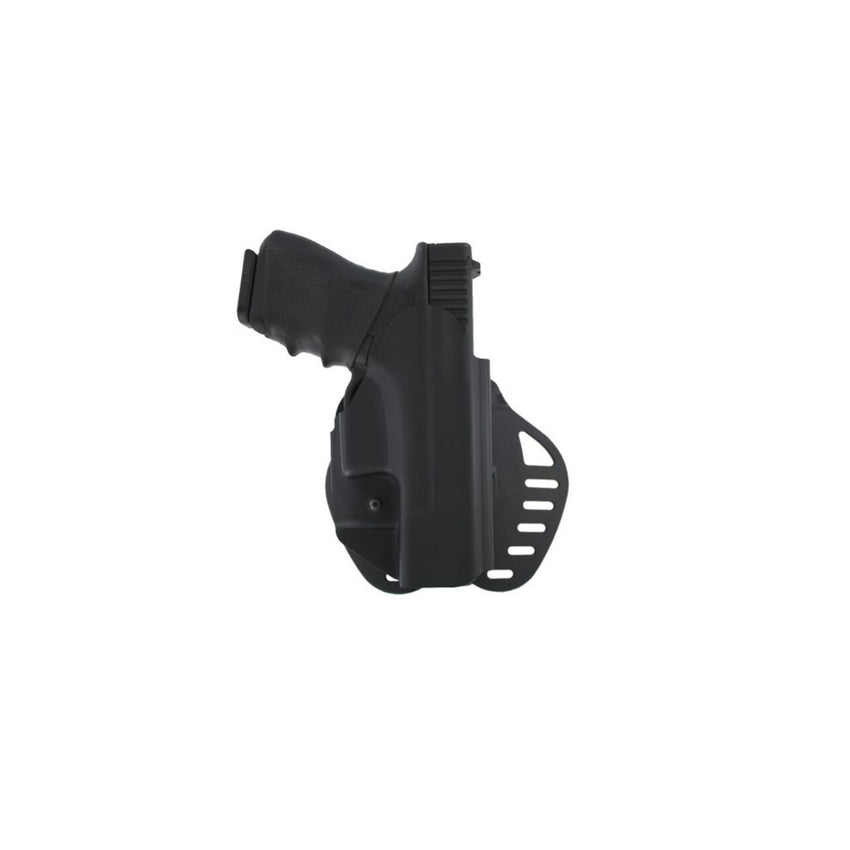 Hogue ARS Stg 1 Carry Holster Glock 19 23 25 32 38 45 RH Blk