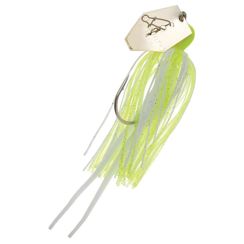 Zman Chatterbait 0.25 Oz-Chartreuse White Gold Blade