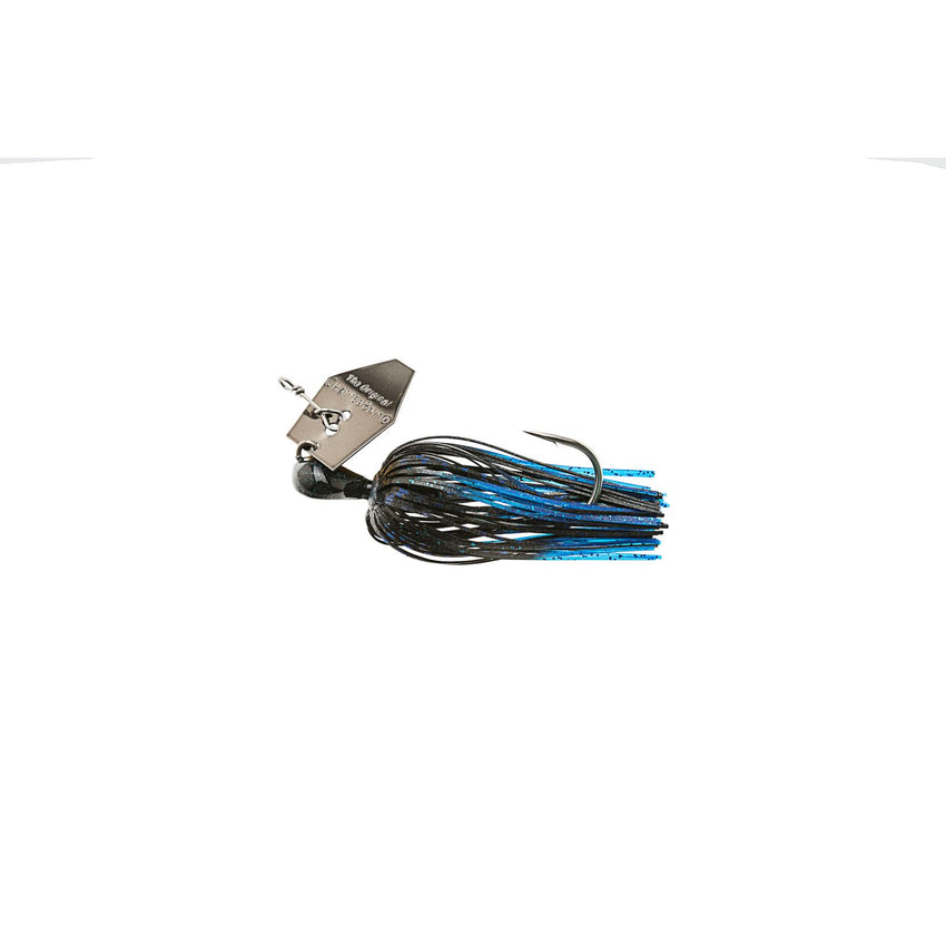 Zman Chatterbait Elite 0.5 Oz-Black Blue