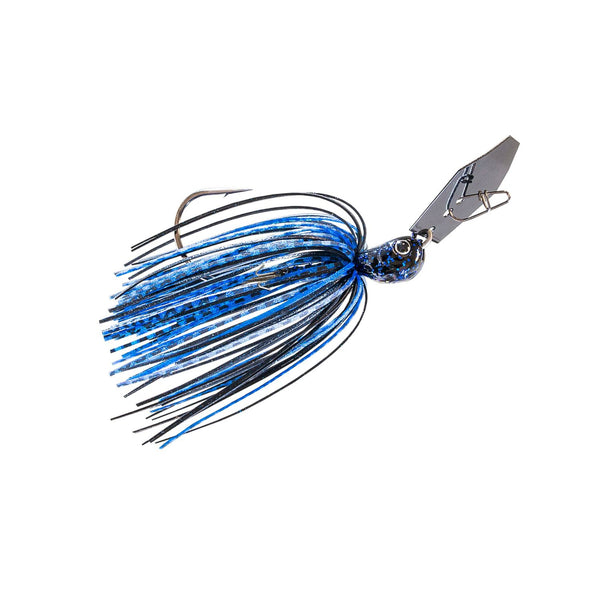 Zman Chatterbait Jackhammer 0.5 Oz-Black Blue