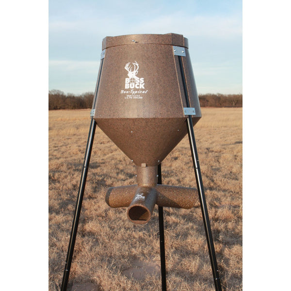 Boss Buck Gravity Feeder 200lb All In