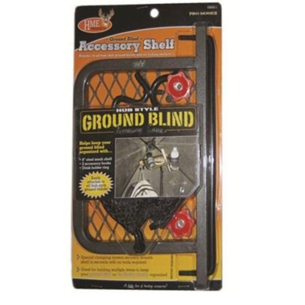 HME Ground Blind 8 Inch Shelf with DHR and 2HK