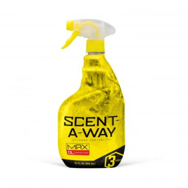 Hunters Specialties Scent Away Odorless Max Spray 32 Oz