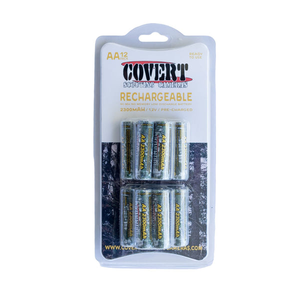 Covert AA Rechargeable Batteries