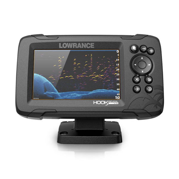 Lowrance Hook Reveal 5X Splitshot