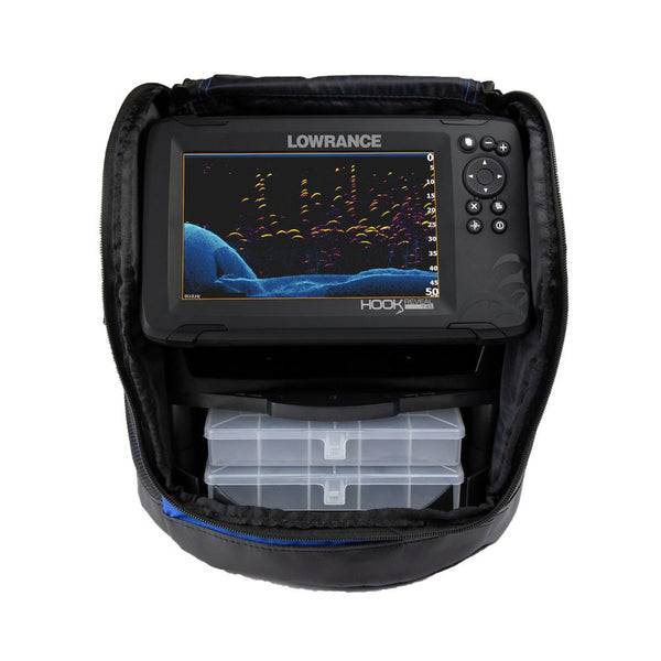 Lowrance Hook Reveal 7 Splitshot US Icemachine