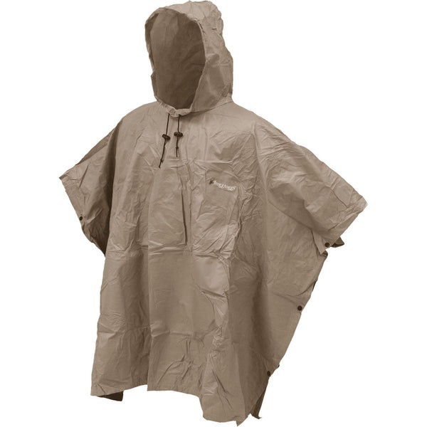 Frogg Toggs Ultra Lite 2 Poncho Khaki One Size Fits All