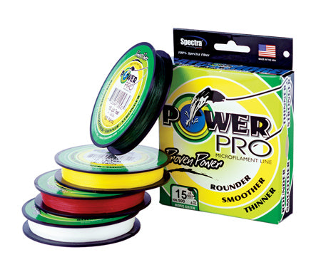 Power Pro Microfilament Line 30lb  Red 500 Yard