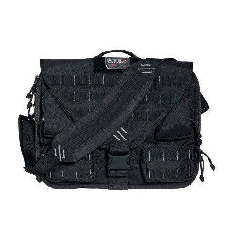 G.P.S. Tactical Brief Case Black GPS-T1350BCB
