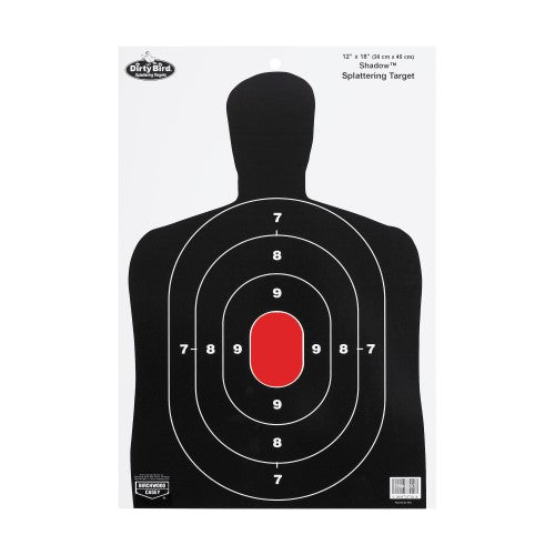 Birchwood Casey Dirty Bird BC27 Silhouette 12x18 Target 8 Pk