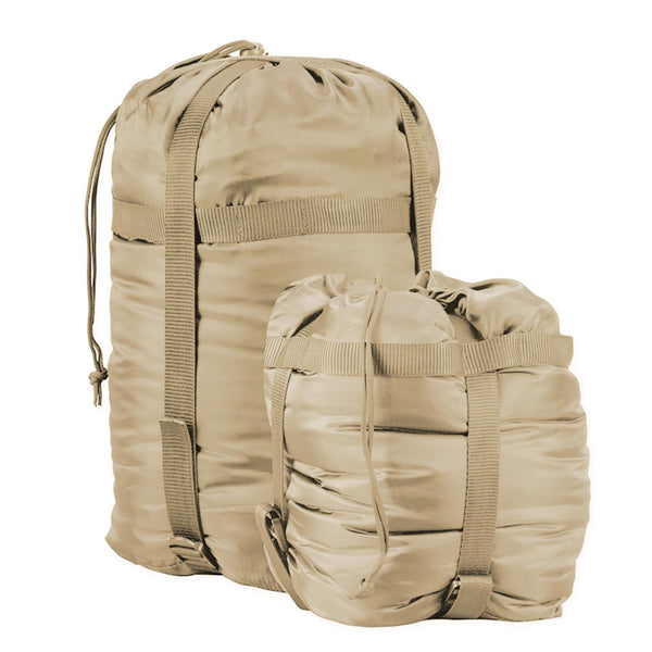 Snugpak Compression Stuff Sacks  Desert Tan  MD