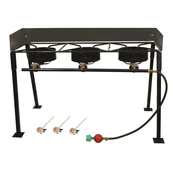 King Kooker  CS42 -25in Triple Burner Outdoor Cooker Pkg