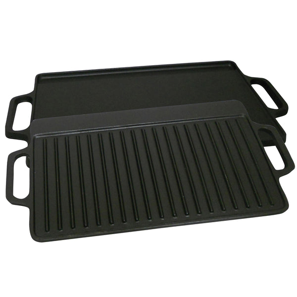 King Kooker  CI21GS- Cast Iron Seasoned Griddle