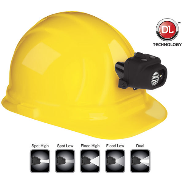 Nightstick NSP-4608BC Headlamp w-Hard Hat Clip and Mount