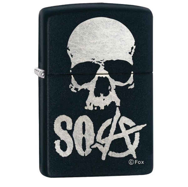 Zippo Matte Black Sons of Anarchy Lighter