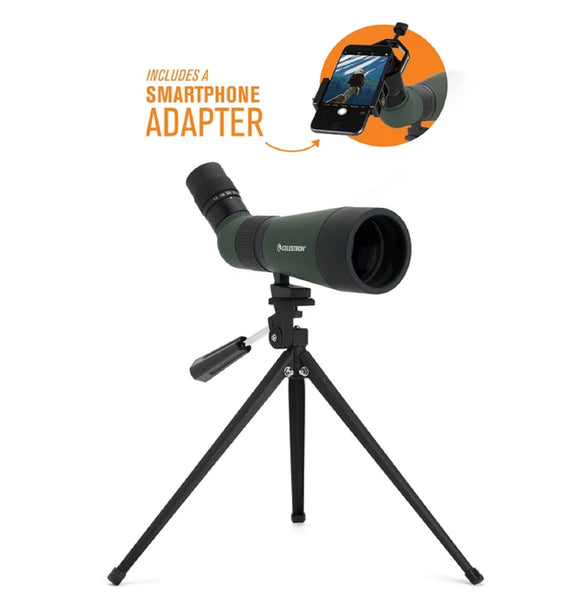 Celestron LandScout 12-36x60 Scope with Smartphone Adapter