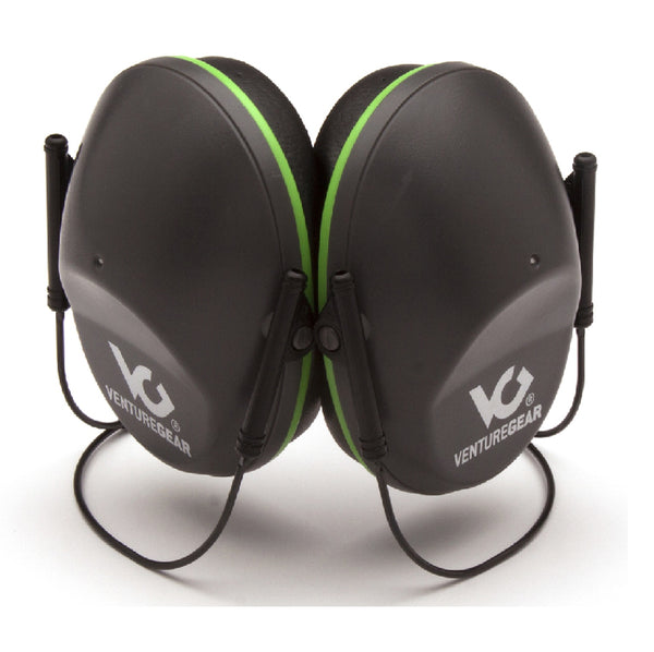 Venture Gear Behind the Head Earmuff Black