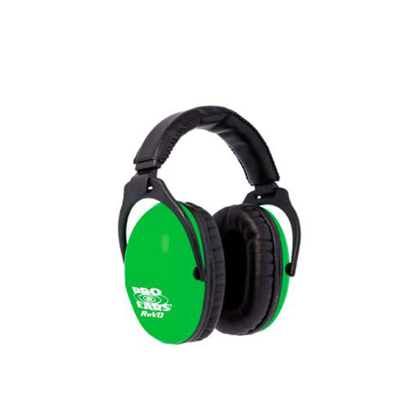 Pro Ears Passive Revo Ear Muffs Green