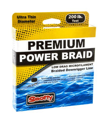 Scotty Power Braid Dwnrggr Lne 200lb Test 400 ft spool w Kit